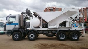 Planta móvil concreto